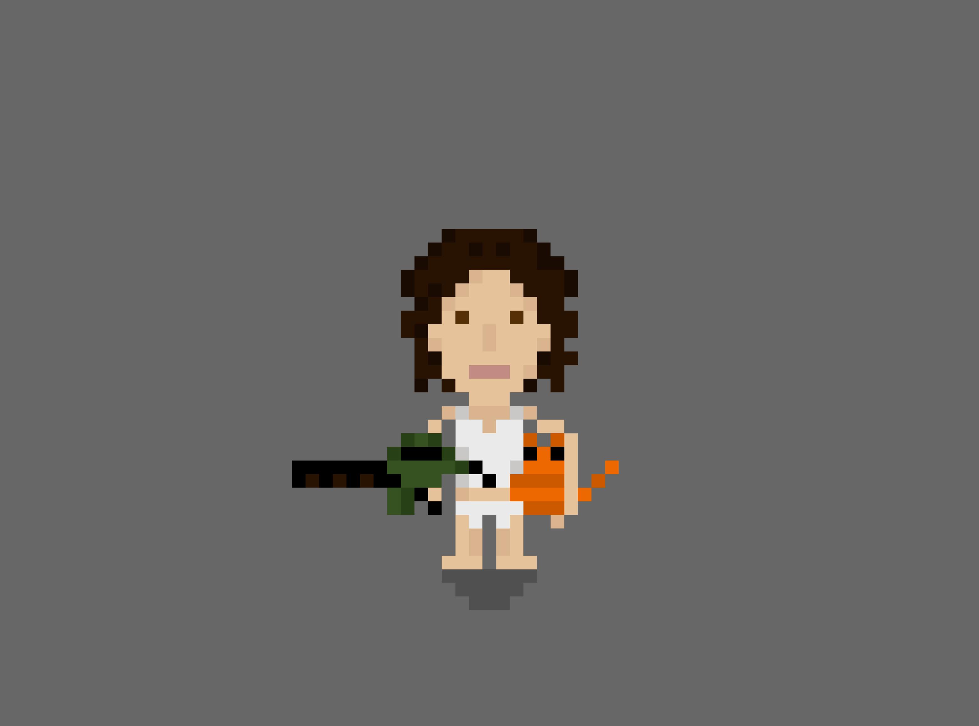 Ripley 8 bit sprite alien