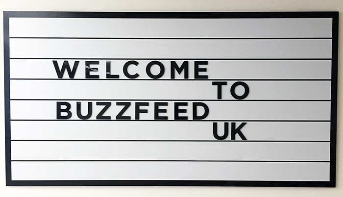 BuzzFeed UK's Moved Home!
