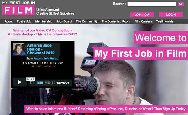 I WON My First Job in Film's Video CV Competition!