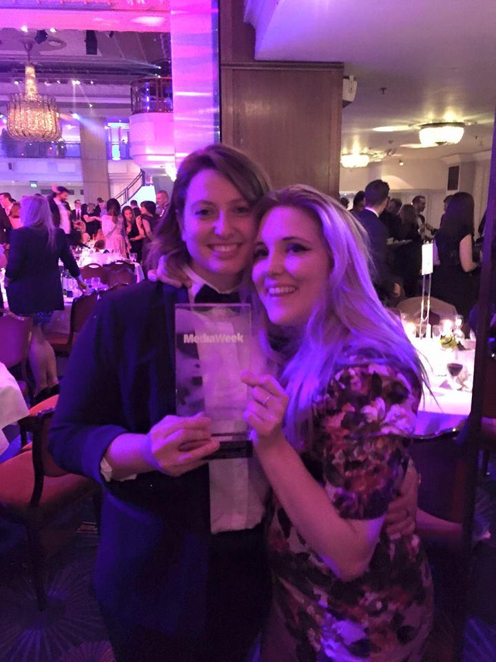 Media Week Awards: We Won Silver!!