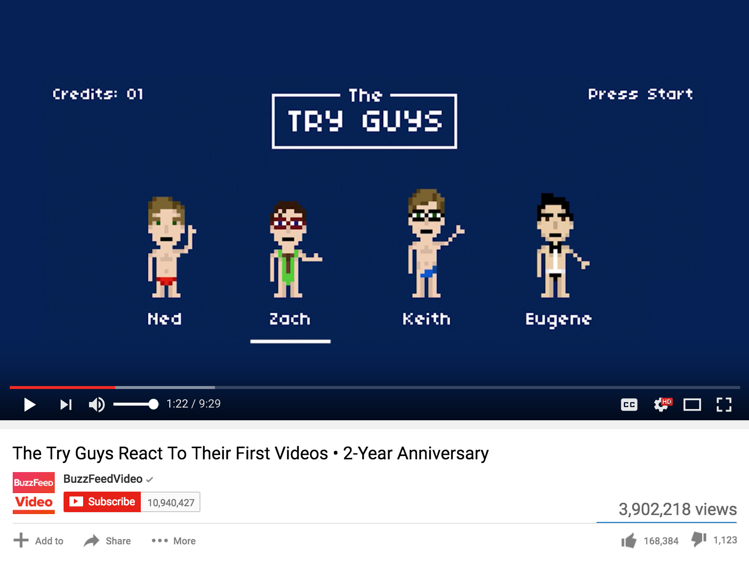 The Try Guys Used My Animation In Their Anniversary Video!
